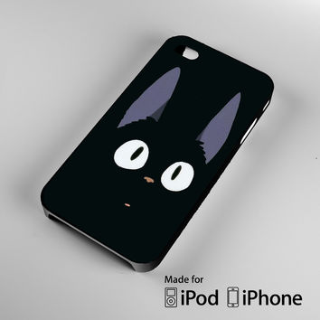 Jiji Kiki's Delivery Service Cat A0667 iPhone 4S 5S 5C 6 6Plus, iPod 4 5, LG G2 G3, Sony Z2 Case
