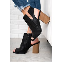 On Your Own Booties (Black)