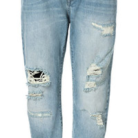 RIPPED BOYFRIEND JEANS - Jeans - Woman - New collection | ZARA United States