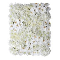Mixed White Flower Wall