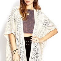 Cozy Open-Knit Cardigan
