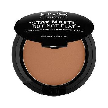NYX Stay Matte But Not Flat Powder Foundation - Cocoa - SMP19