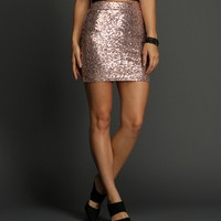 Sale-champagne Go Glam Skirt