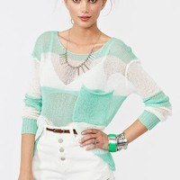 Shoreline Knit in  What's New at Nasty Gal