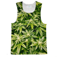 Kush Leaves Loose Tank Top