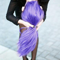Colored Hair Gel - Temporary Color Liquid Chalk, Pick Your Color, Single Application Use
