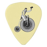 Model T Penny Farthing Classic Guitar Pick