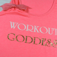 Workout Goddess - Workout Exercise Fitness Tank Top Shirt