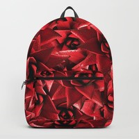 Lusty Crown of Thorns Backpack by deluxephotos