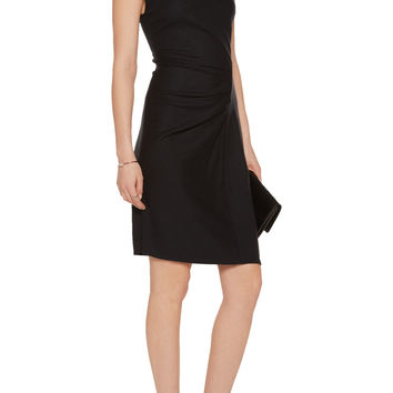 Ruched wool dress | Halston Heritage | US | THE OUTNET