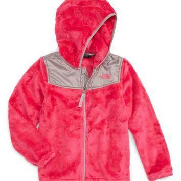 ONETOW The North Face Oso Fleece Hoodie (Toddler Girls & Little Girls) | Nordstrom