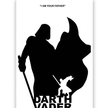 I Am Your Father | Star Wars Inspired Poster