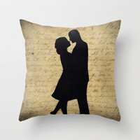 Loving Couple Throw Pillow by Nicklas Gustafsson | Society6