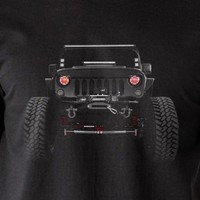 American Jeep Wrangler T-Shirts 2014 Mens Tees 100% Cotton Holiday Gift Birthday