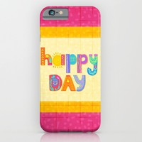 Happy Day iPhone & iPod Case by Noonday Design