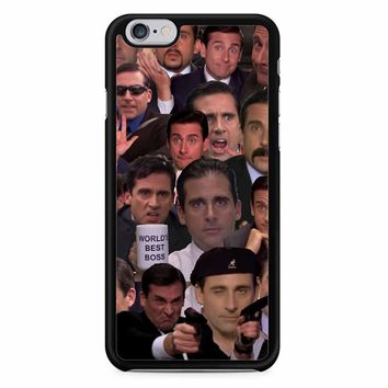 Michael Scott Collage iPhone 6 Case