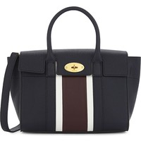 MULBERRY - Bayswater striped small leather bag | Selfridges.com