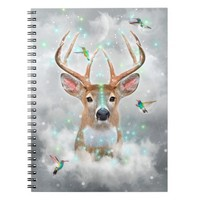 Dream By Day (Rain-deer Dreams) Notebook
