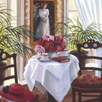 """An Elegant Afternoon"" Susan Rios Keepsakes 8 x 10"