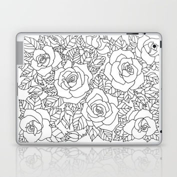 Roses Laptop & iPad Skin by MIKART