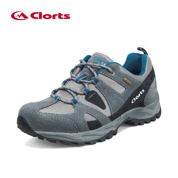 Low Cut Men Hiking Boots Clorts Nubuck Breathable Outdoor Hiking Shoes Suede Rubber Waterproof Athletic Sneakers HKL-828A/B/C