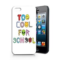 Too Cool For School Plastic Phone Case for iphone 5 5s _ SUPERTRAMPshop