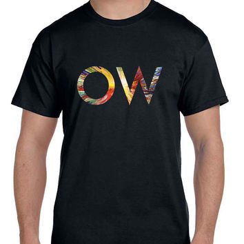Oh Wonder Title Technicolour Beat Mask  Mens T Shirt