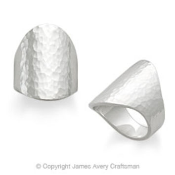 Hammered Oval Ring from James Avery
