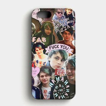 Michael Clifford Collage iPhone SE Case