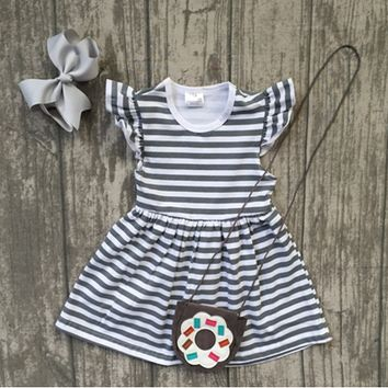 3pc Donut & Stripes!