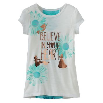 Disney Princess ''Believe In Your Heart'' Tee by Jumping Beans - Girls