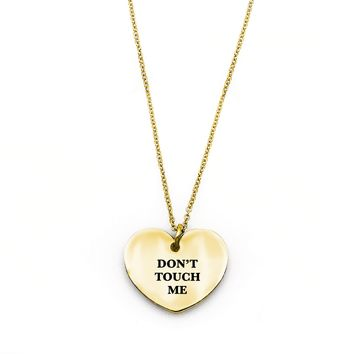 Don't Touch Me Necklace