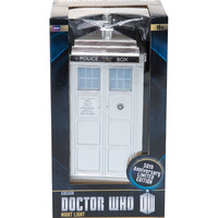 Doctor Who Chrome TARDIS Night Light