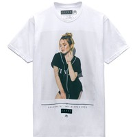 Civil - Lindsay Lohan L12 T-Shirt - Mens Tee - White