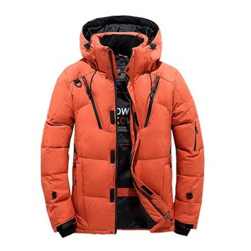 2018 Winter Jacket Men Thick Hooded Fur Collar Parka Men Coats Casual Padded Men's Jackets Male Clothing