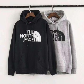 VONEB7T THE NORTH FACE Men Fashion Splicing Print Long Sleeve Hoodie Pullover Sweater  G-ZDL-STPFYF
