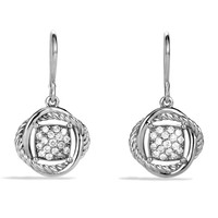 Infinity Earrings with Diamonds - David Yurman