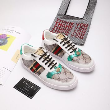 GUCCI Baitao leisure low-top shoes