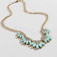 Ruble Crystal Necklace
