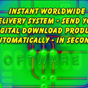 Instant Digital Download Delivery System - 24/365 Fully Automated & Great Value | eBay