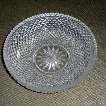 EXQUISITE HOYA CRYSTAL Bowl/Brand New Hoya Crystal Bowl/Stunning Designed Hoya Crystal Bowl/Made in Japan/Parent Company Mikasa of Japan