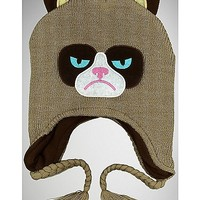 Grumpy Cat Laplander Hat - Spencer's