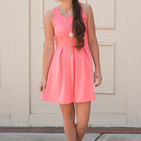 Color Me Coral Dress
