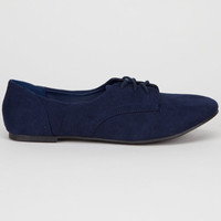 City Classified Desta Womens Shoes Navy  In Sizes