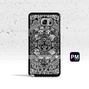 Mayan Calendar Case Cover for Samsung Galaxy S3 S4 S5 S6 S7 Edge Plus Active Mini Note 3 4 5 7