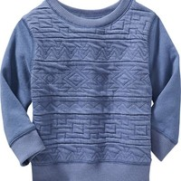 Old Navy Quilted Pullover For Baby