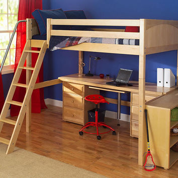 Lingo Full Size Ultra High Loft Bed