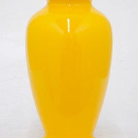 Yellow Ceramic Urn Vase | zulily