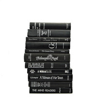 BLACK SILVER Book Decor, Decorative books, Wedding Decor, Centerpiece, Book Shelf  Bundle Stack, Hom Decor, Instant library, Interior Design