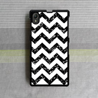 Sony Xperia Z case , Sony Xperia Z1 case , Sony Xperia Z2 case , Black and White pattern